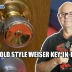 Rekey Old Wesier Key in Knob Locks Coquitlam