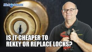 Cheaper to Rekey or Replace Lock